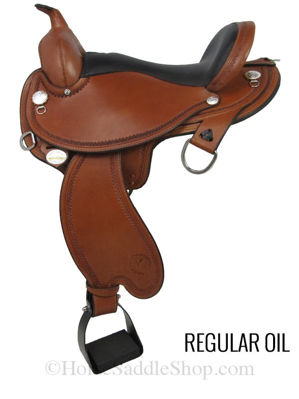 Circle y arabian saddle