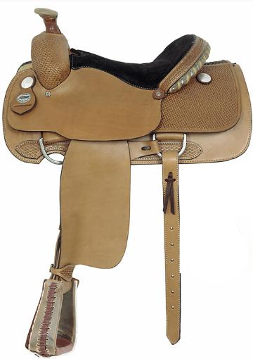 Big Horn Master Craft Professional Roping Saddle