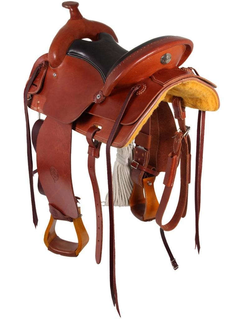 Draft Horse Saddles - What Are They? | Horse Saddle Comparison
