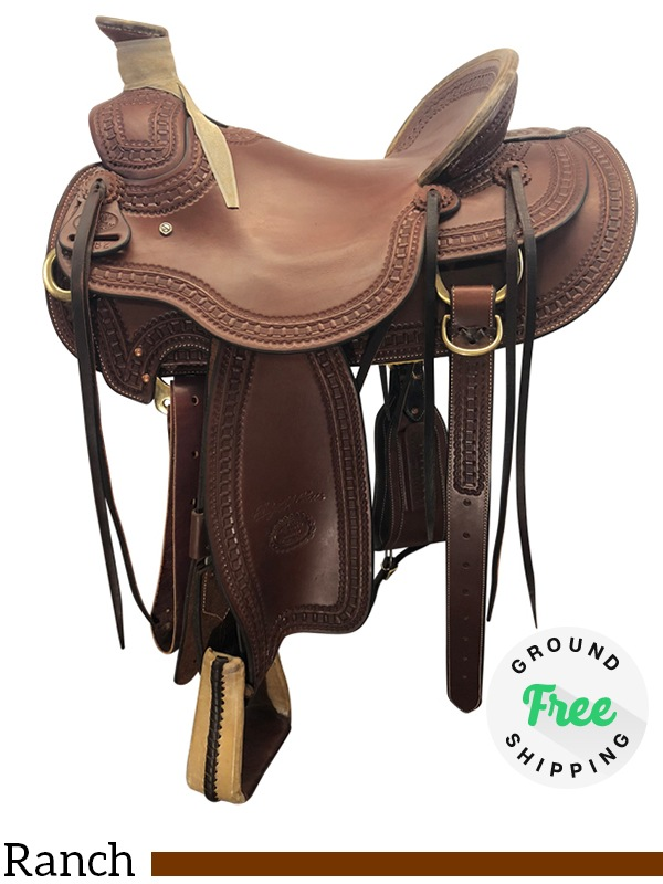 Used Billy Cook Arbuckle Wade Ranch Saddle Review   Horse