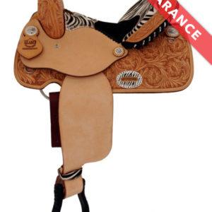 16 5″ Used Tucker Wide Trail Saddle 257 Classic ustk4164