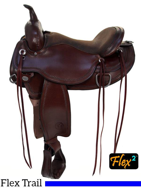 Circle Y Omaha Flex2 Trail Saddle