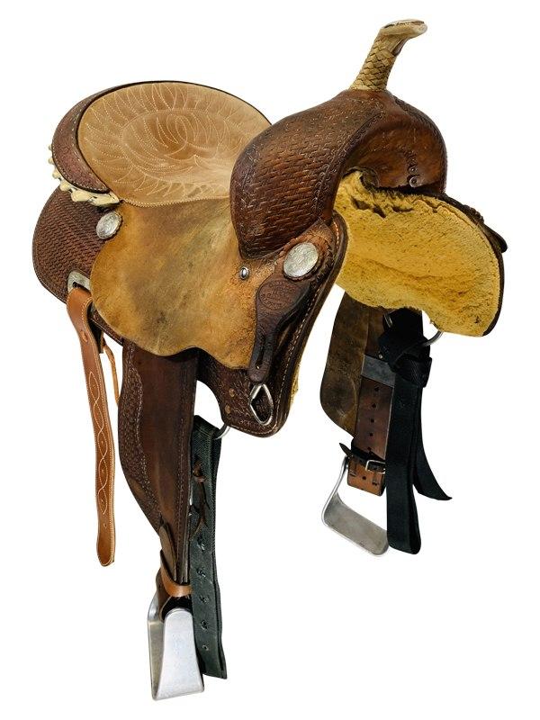 Used Billy Cook Barrel Saddle Sale